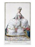 Marie Antoinette Giclee Print by Pierre Duflos