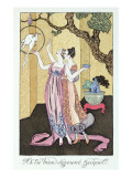 Have You Had a Good Dinner, Jacquot', 1919 Giclee Print by Georges Barbier