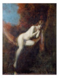 Sarah Bathing, 1902 Giclee Print by Jean-Jacques Henner