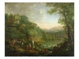 Ideal Landscape, 1776 Giclee Print by Johann Sebastian Bach