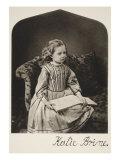 Katie Brine, 16th June 1866 Giclee Print by Charles Lutwidge Dodgson