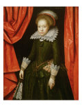 Portrait of a Girl of the de Ligne family, 1616 Giclee Print by Marcus Gheeraerts