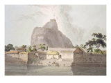 Fort of Trichinopoly, From 'Oriental Scenery: Twenty Four Views in Hindoostan' Giclee Print by Thomas Daniell