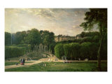The Park at St. Cloud, 1865 Giclee Print by Charles-Francois Daubigny