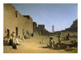 Laghouat in the Algerian Sahara, 1879, Giclee Print
