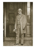 General Robert E. Lee Standing Outside His House in Richmond, April 1865 Giclee Print by Mathew Brady & Studio