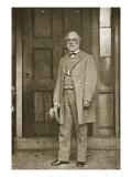 General Robert E. Lee Standing Outside His House in Richmond, April 1865 Giclee Print by Mathew Brady & Studio