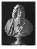 Bust of Jean-Baptiste Colbert De Torcy Giclee Print by Antoine Coysevox
