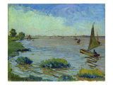 Windy Day on the Elbe, 1911 Giclee Print by Richard Dreher