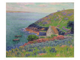 Port Manech, 1896 Giclee Print by Henry Moret