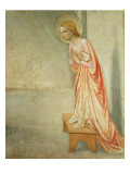 The Annunciation, Detail of the Virgin, 1442 Giclee Print by  Fra Angelico