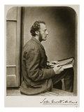 John Everett Millais, 21st July 1865 Giclee Print by Charles Lutwidge Dodgson