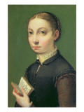 Self Portrait, 1554 Giclee Print by Sofonisba Anguisciola