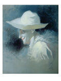 The Mime Artist Georges Wague as Pierrot, 1909 Giclee Print by Jules Chéret