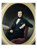 Portrait of Baron Weisweiller, 1853 Giclee Print by Federico de Madrazo y Kuntz