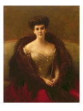 Portrait of Princess O.V. Paley Giclee Print by Pascal Adolphe Jean Dagnan-Bouveret