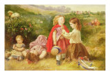Do You Like Butter Giclee Print by Myles Birket Foster