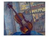 Violin, 1918 Giclee Print by Kuzma Sergeevich Petrov-Vodkin