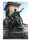 Detail from the Monument to Vittorio Emanuele II Reproduction procédé giclée par Ettore Ferrari
