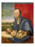 Virgin and Child Giclee Print by Giovanni Bellini