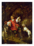 The Huntsman Giclee Print by Gabriel Metsu