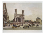 Church of St. Vincent De Paul, Paris, Illustration from 'Paris Dans Sa Splendeur' Giclee Print by Philippe Benoist