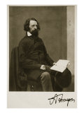 Alfred, Lord Tennyson, 28th September 1857 Giclee Print by Charles Lutwidge Dodgson