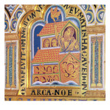 Noah and the Ark, Detail of one of the 51 panels of the Verduner Altar, 1181 Giclee Print by Nicholas of Verdun 