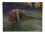 The Death of Siegfried, 1906 Giclee Print by Hermann Hendrich