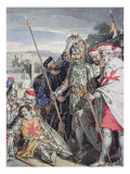 Ivanhoe by Sir Walter Scott: The Death of Sir Brian de Bois-Guilbert Giclee Print by John Augustus Atkinson