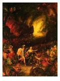 Aeneas in Hades Giclee Print by Jan Bruegel the Elder