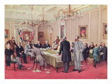 The London Conference December 1866-March 1867 Giclee Print by John David Kelly