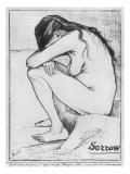 Sorrow, 1882 Giclee Print by Vincent van Gogh