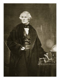 Samuel Finley Breese Morse at the Academy of Design in New York, 1841 Giclee Print by Mathew Brady