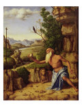 St. Jerome in a Landscape, c.1500-10 Giclee Print by Giovanni Battista Cima Da Conegliano