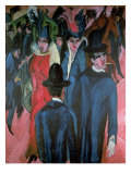 Berlin Street Scene, 1913 Giclee Print by Ernst Ludwig Kirchner