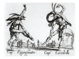 I Balli De Spessanei, or Le Grande Chasse Giclee Print by Jacques Callot