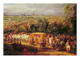 The Entry of Louis XIV Giclee Print by Adam Frans van der Meulen