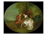 The Birdnester Giclee Print by Jean-Baptiste Joseph Pater