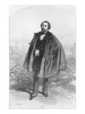 Alfred de Musset Giclee Print by Paul Gavarni