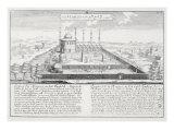 Mosque of Medina, from 'Entwurf einer historischen Architektur', 1721 Giclee Print by Johann Bernhard Fischer Von Erlach