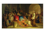 Trial of the Apostle Paul Giclee Print by Nikolai K. Bodarevski
