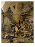 Death of General Beaupuy, 1888 Giclee Print by Alexandre Bloch