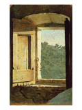 The Window Giclee Print by Giuseppe Abbati