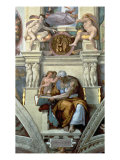 Sistine Chapel Ceiling: Cumaean Sibyl, 1510 Giclee Print by  Michelangelo Buonarroti
