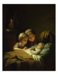 The Three Sisters Giclee Print by Johann Georg Meyer von Bremen