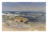 The Atlantic Surf, 1899 Giclee Print by William McTaggart