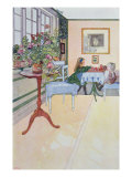 A Game of Chess, early twentieth century Giclee Print by Carl Larsson