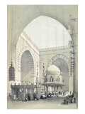 Interior of the Mosque of Sultan Hasan, in Cairo Giclee Print by Owen Jones