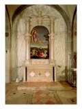 St. Christina Altarpiece Giclee Print by Vincenzo Di Biagio Catena
